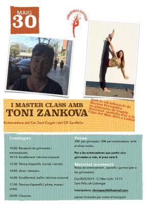 MASTER CLASS A SANT FELIU AMB LA TONI ZANKOVA