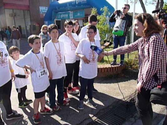 El GEIEG a la cursa de Bombers de Girona